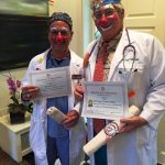 """DR Clowns with their """"qualifications""""."""